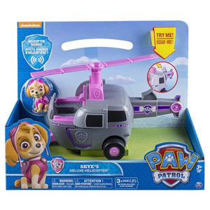 Paw Patrol  Skye's Deluxe  Helicopter Vehicle and Figure