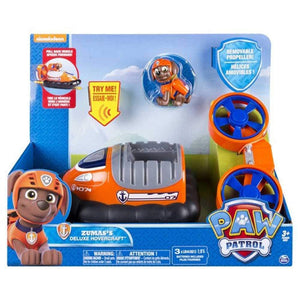 Paw Patrol  Zuma's Deluxe  Hovercraft Vehicle and Figure