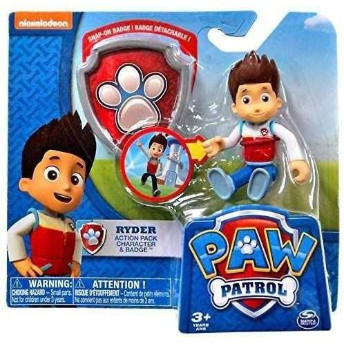Buy Paw Patrol Action Pack Pup And Badge Set Ryder Online At Toy