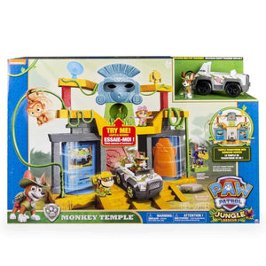 Paw Patrol Jungle Rescue Monkey Temple Playset