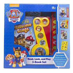 Paw Patrol Read, Look and Play Sound Books - Set of 3 Books
