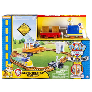 Paw Patrol Roll Patrol Adventure Bay Railway Track Set
