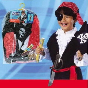 Pirate Dress Up with Pirate Accessories