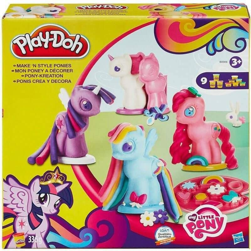 My Little Pony Play Doh My Little Pony Make N Style Ponies Set - Buy Online