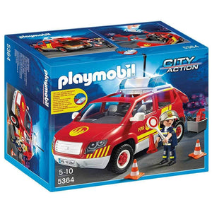 Playmobil Fire Chief's Car with Lights and Sounds - 5364