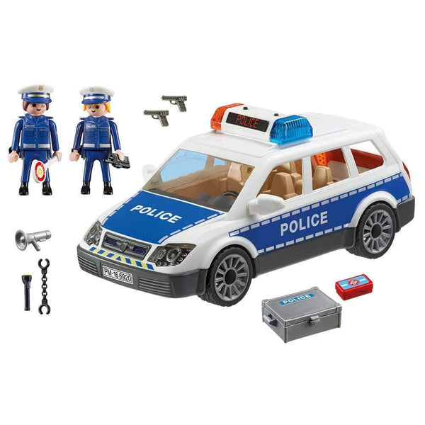 Buy Playmobil Police Car with Lights and Sounds - 6920 at Toy Universe