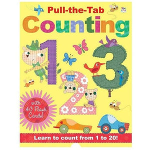 Pull the Tab Counting Learning Book