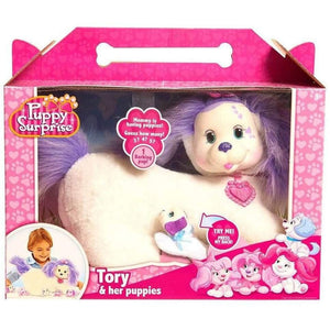 Puppy Surprise Plush Tory the White Dog