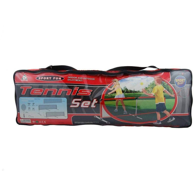 Toy Universe Brands Tennis Set including Tennis Net with Carry Bag - Buy Online