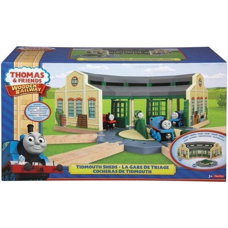 Buy Thomas and Friends Wooden Railway Tidmouth Sheds Online at Toy ...