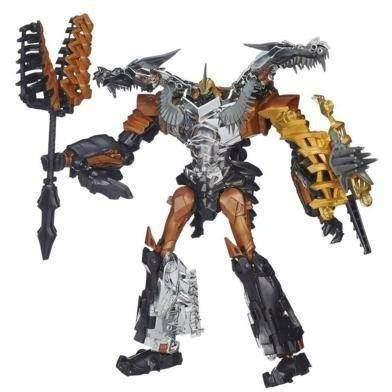 Transformers Transformers Age of Extinction Generations Leader Class Grimlock Figure - Buy Online
