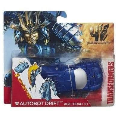 Transformers Transformers Age of Extinction One Step Changer Drift Figure - Buy Online