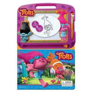 Trolls Learning Book with Magnetic Drawing Pad