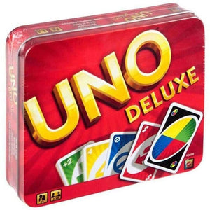 UNO Deluxe in Tin  - The Original Family Game