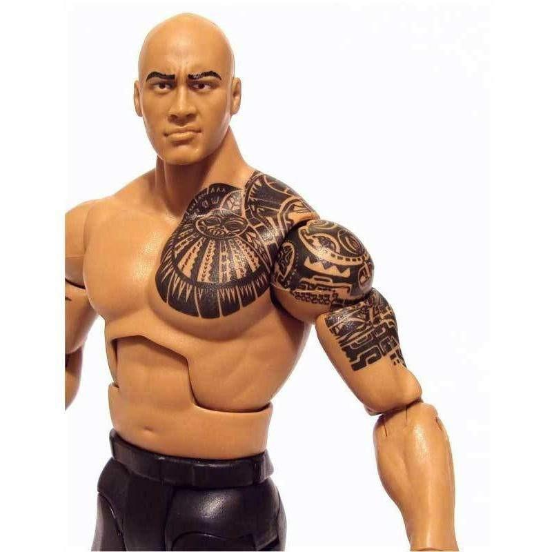 buy wwe 12 inch action figure the rock with tattoo online