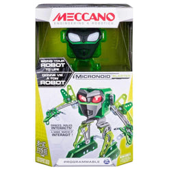 Meccano Robot Building Micronoid Green Blaster Set