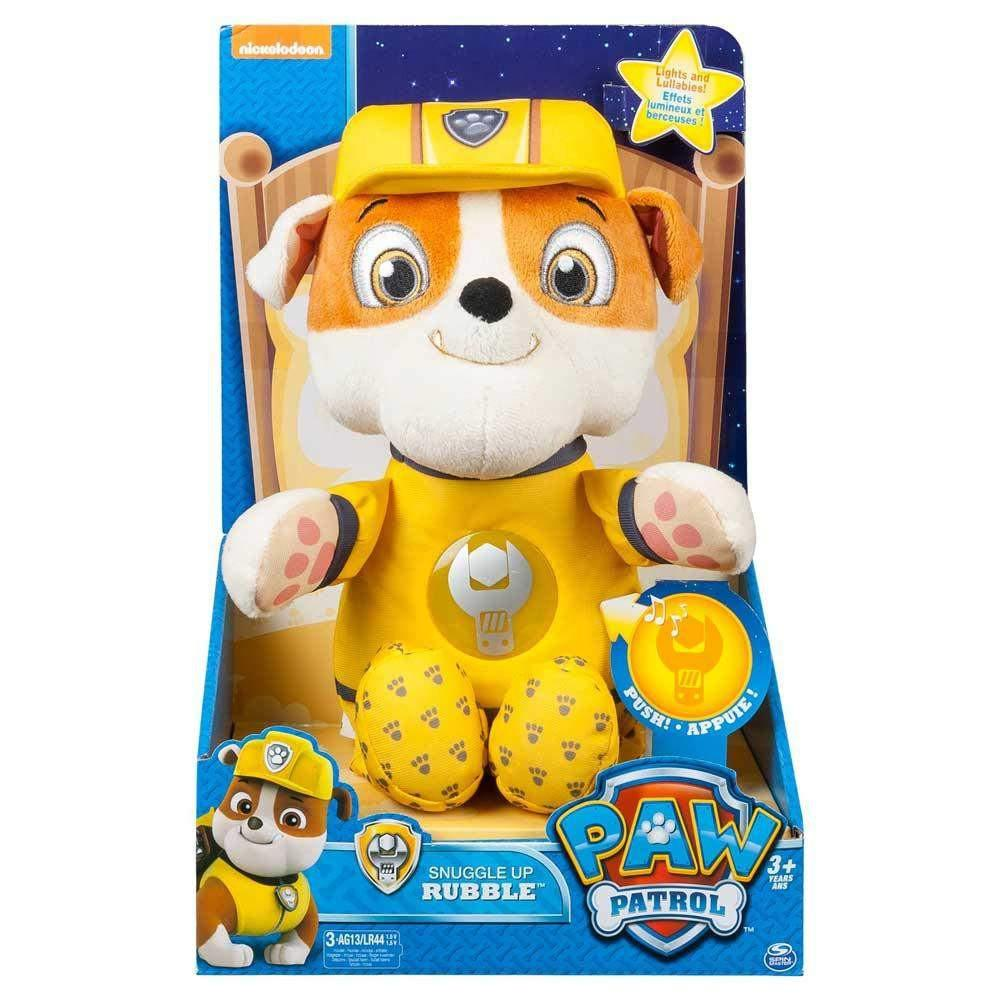 Paw Patrol Toy For Everyone : Buy paw patrol snuggle up rubble online at toy universe
