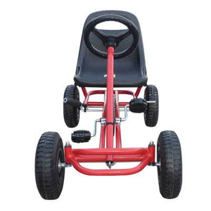 Ride On Kids Toy Pedal Bike Go Kart Car - Red