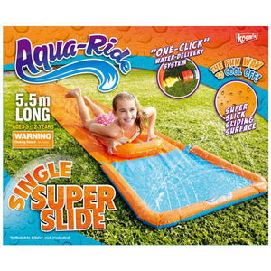 Aqua Ride Single Super Water Slide