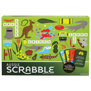 Aussie Scrabble Board Game