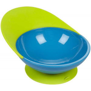 BOON CATCH Bowl with Spill Catcher - Blue / Green