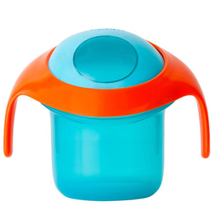 BOON NOSH Snack Container - Blue/Orange