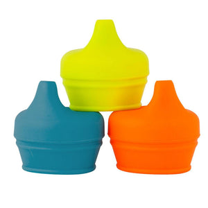 BOON SNUG Spout 3 Pack Lids - Boy