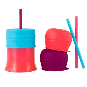 BOON SNUG Straw with Cup - Girl