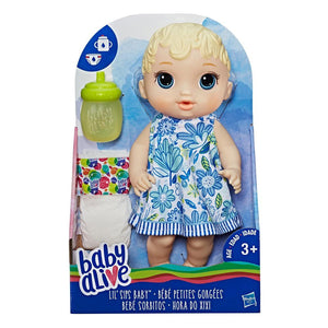 Baby Alive Lil Sips Baby Doll -  Blonde