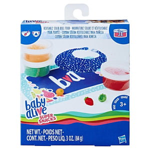 Baby Alive Reusable Solid Food Refill Pack