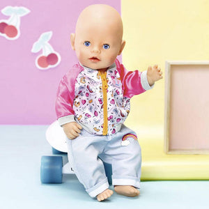 Baby Born Casuals Set - Pink Jacket