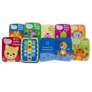 Baby Einstein Me Reader Jr Electronic Reader and 8-Book Library