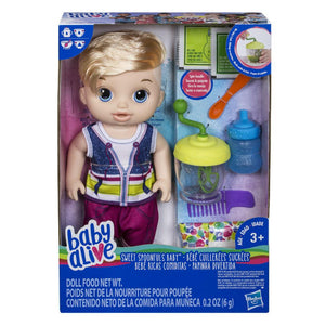Baby Alive Sweet Spoonfuls Blonde Boy Doll