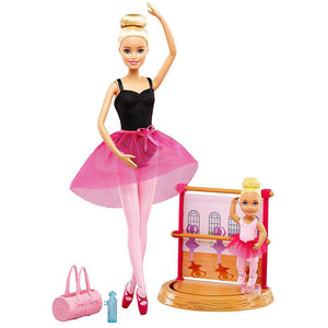 Barbie Careers Ballet Instructor Fashion Doll Playset