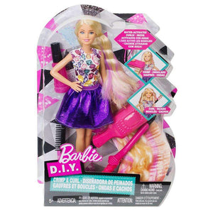 Barbie D.I.Y. Crimps and Curls Doll