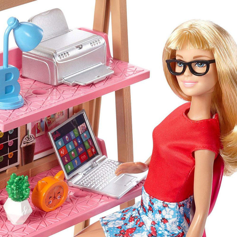 Barbie Doll And Home Office Playset At Toy Universe Australia Barbie