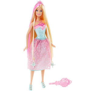 Barbie Endless Hair Kingdom Princess Doll - Pink and Blonde Hair
