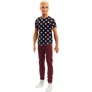 Barbie Fashionista Ken Doll Black & White Original Doll