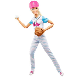 Barbie Made to Move Baseball Doll