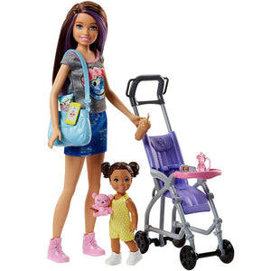 Barbie Skipper Babysitters Inc Doll and Stroller Playset