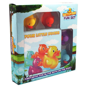 Bathtime Fun Set – Four Little Ducks Bath Book with Light Up Ducks