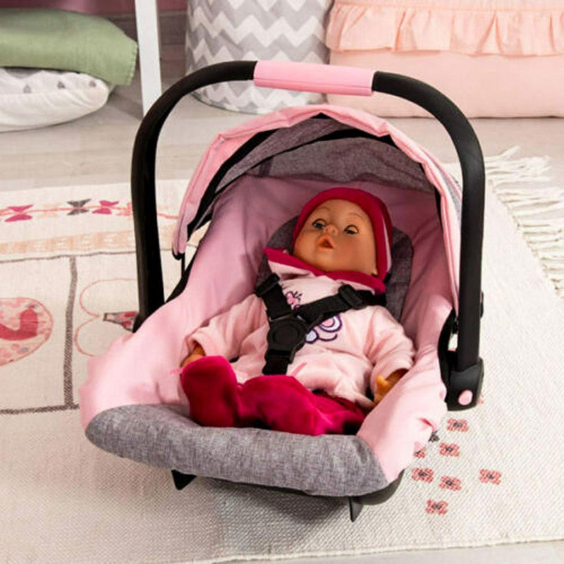 Bayer Bayer Doll Car Capsule Pink and Grey with Butterfly - Buy Online