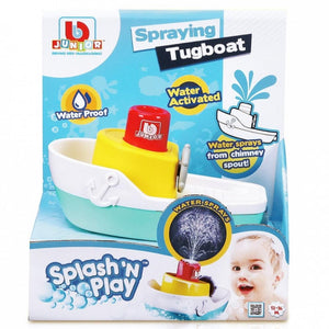 Bburago Junior Splash 'N Play Spraying Tugboat