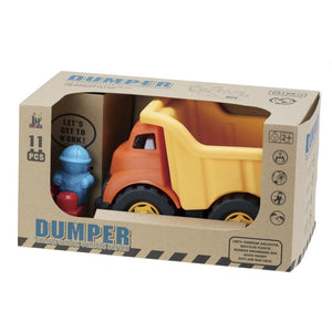 Recycled Construction Dump Truck with Building Blocks