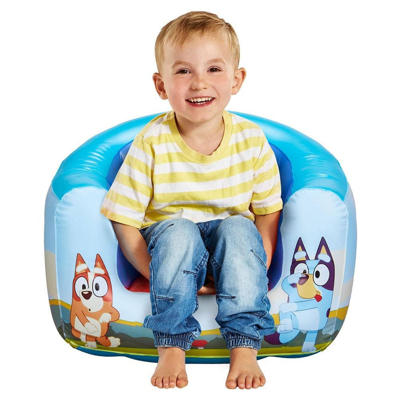 Bluey Bluey Inflatable Arm Chair | Stay At Home Mum