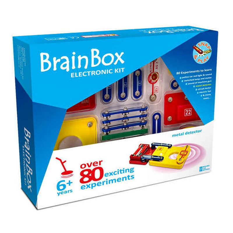 Toy Universe Brands BrainBox Metal Detector Kit Brain Box - Buy Online