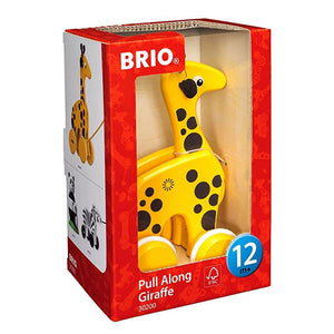 Brio Early Learning Toddler Pull-Along Giraffe