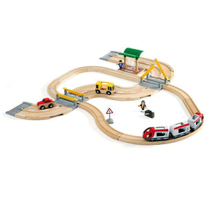 Brio Rail and Road Travel Set