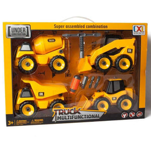 Build It Yourself 4 Truck Set with Tools