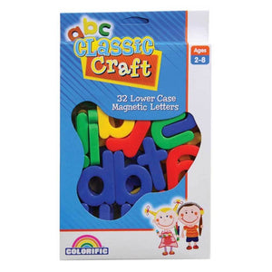 Classic Craft Chunky Lower Case Letter Magnets